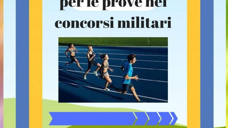 CORSI PREPARAZIONE FISICA PER CONCORSI MILITARI