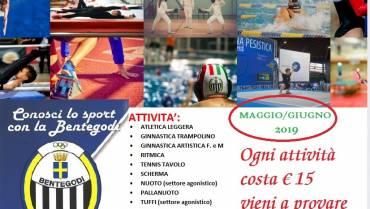 CONOSCI LO SPORT MAGGIO/GIUGNO 2019